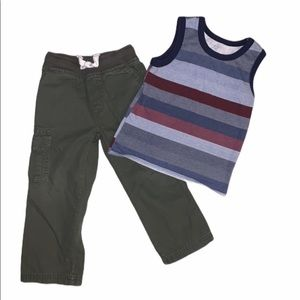 3T toddler bundle, sweat pants, cargo pants